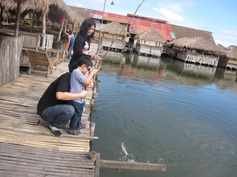 Co Jordan, fishing with kids
