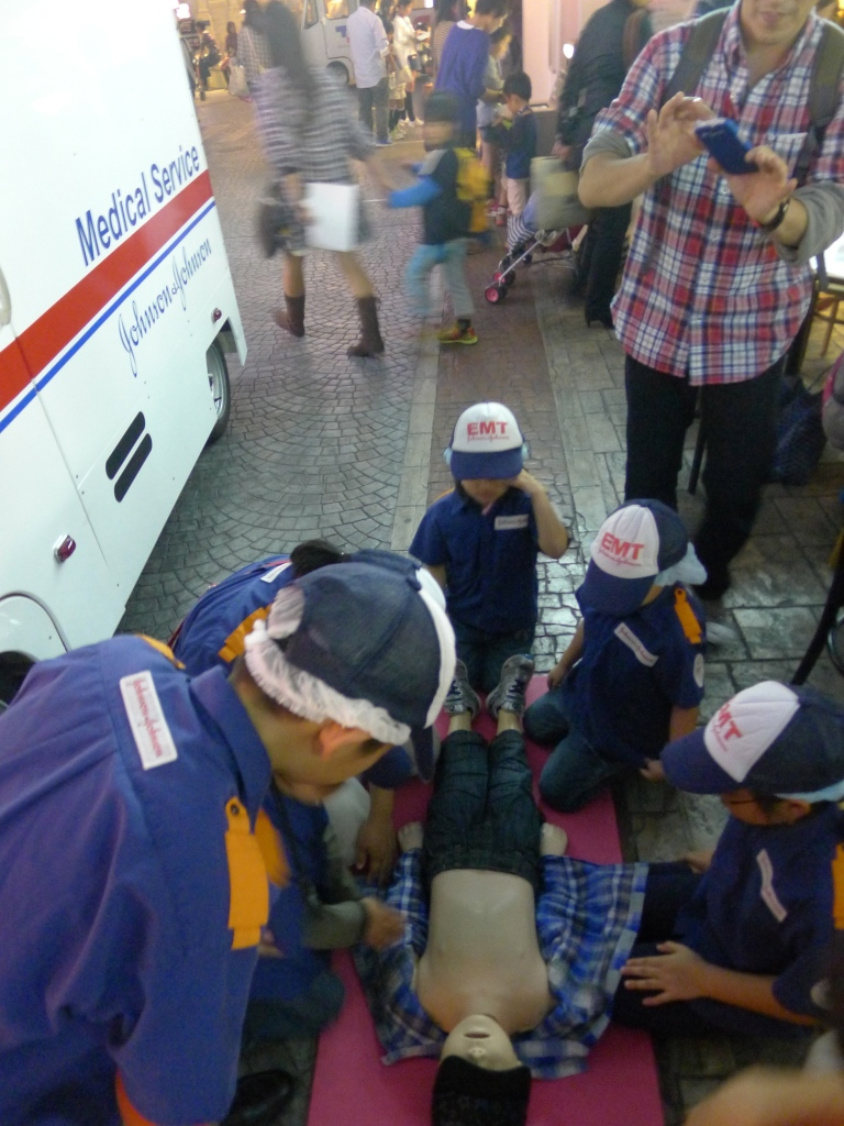 Emergency Rescue Unit at Kidzania