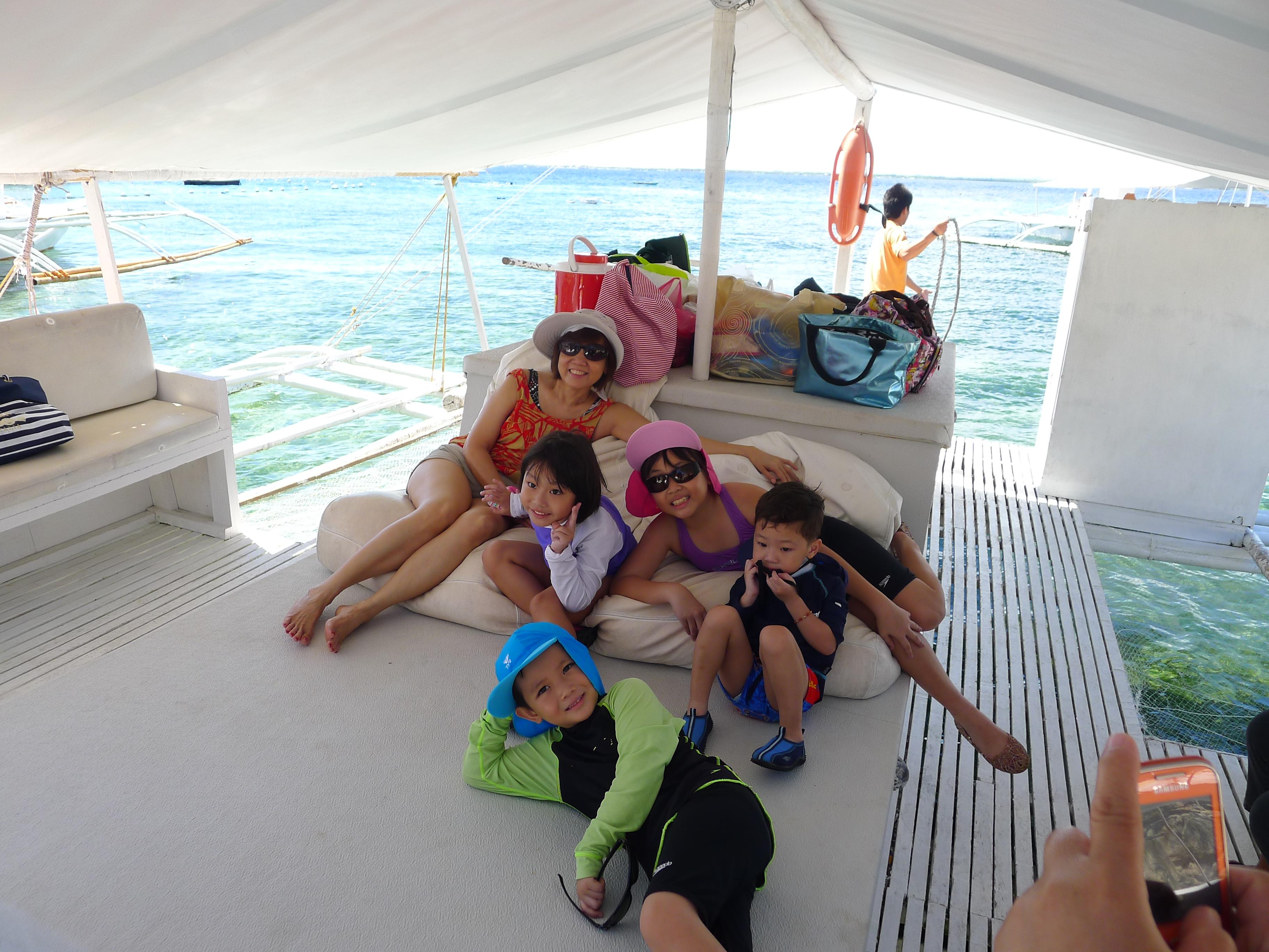 cebu s weekend getaway island hopping mom and pop moments