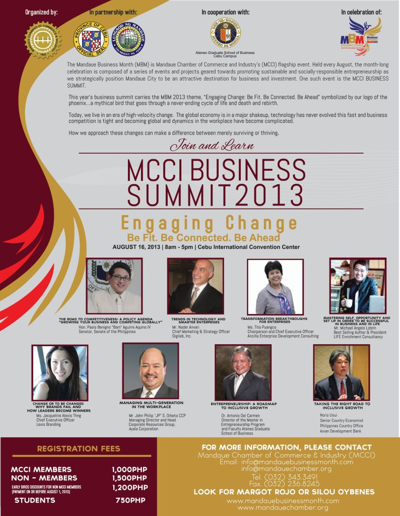 MCCI Business Summit 2013