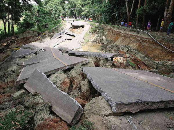 Damage of Bohol Earthquake 2013